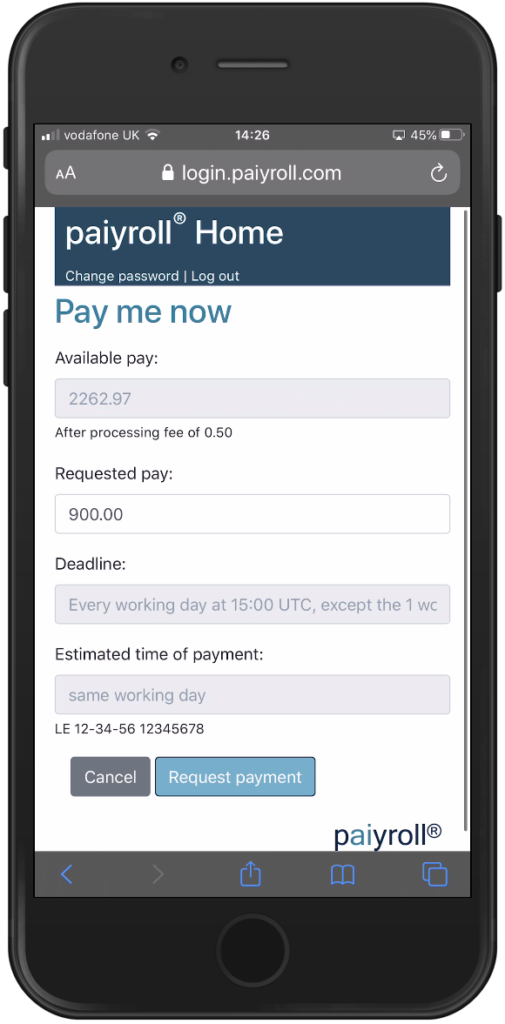 Pay me now automated online payroll service